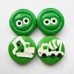 Vehicles - set of 4 polymer..